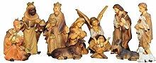 Figuren für große Weihnachtskrippen aus Holz