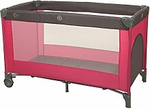 Fillikid Reisebett Standard pink-grau