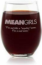 Filme auf Glas–Mean Girls Movie Logo mit