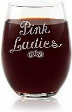 Filme auf Glas–Pink Damen Fett Film Gravur