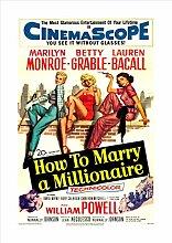 "Filmposter mit der Aufschrift ""How to Marry A"