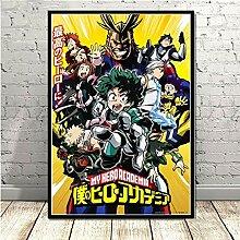 Filmposter mit japanischem Anime-Motiv, kein