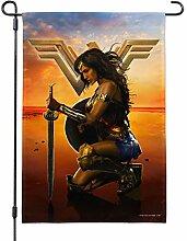 Filmposter Wonder Woman von Graph & More Flag with