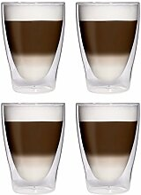 Filosa 4X 280ml XL doppelwandige Latte