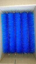 Filterbürsten Blau 50 cm Ø 150mm x 12 Stk. !!! Gartenteich Filter Koi Filterbürste Teichfilter