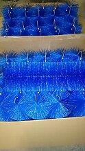 Filterbürsten Blau 50 cm Ø 150mm x 36 Stk. !!! Gartenteich Filter Koi Filterbürste Teichfilter