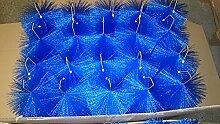 Filterbürsten BLAU 50 cm Ø 150mm x 40 Stk. !!! Gartenteich Filter Koi Filterbürste Teichfilter
