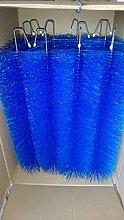 Filterbürsten Blau 60 cm Ø 150mm x 15 Stk. !!! Gartenteich Filter Koi Filterbürste Teichfilter
