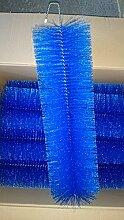 Filterbürsten Blau 60 cm Ø 150mm x 24 Stk. !!! Gartenteich Filter Koi Filterbürste Teichfilter