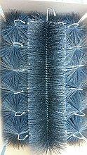 Filterbürsten SCHWARZ 60 cm Ø 150mm x 24 Stk. !!! Gartenteich Filter Koi Filterbürste Teichfilter