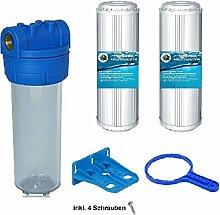 """1 Mikron 6 Stück 10 /"""" Sedimentfilter Wasserfilter Brunnen Vorfilter Osmose"""