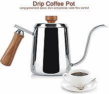 Filterkaffeekanne, 350ml/600ml 304 Edelstahl