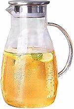 Filterkannen Glas-Wasserkocher Zitronentopf