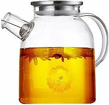 Filterkannen Kaffeekanne Glas Wasserkocher