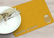 Filz-Dekoration - Platzdeckchen Frohe Ostern