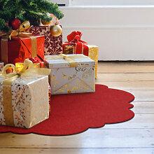 Filz-Dekoration - Weihnachtsbaumdecke - Floralis 01