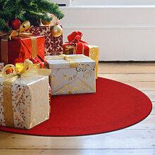Filz-Dekoration - Weihnachtsbaumdecke - Frohe Weihnachten