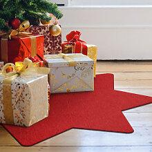 Filz-Dekoration - Weihnachtsbaumdecke - Stern