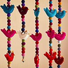Filz Fun Bunte Dekoration Vogel zum Aufhängen