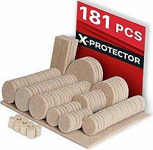 Filz-Pads X-Protector - Premium Möbel-Pads
