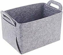 Filz-Stoff-Aufbewahrungsbox, faltender verdickter