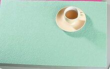 Filzuntersetzer Tischset Platzset rechteckig 45 x