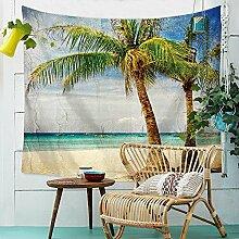 FiMall Tropische Palme Kokosnuss Baum Natur Meer