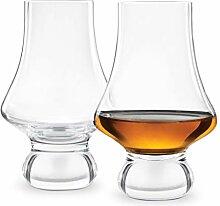 Final Touch Whiskey Probiergläser - 2 Stück