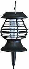 Finanoco Solar LED Licht Moskito Zapper
