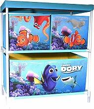 Findet Dory Spielzeugregal Aufbewahrung mit 3