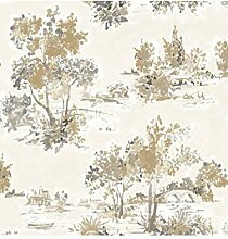 Fine Decor FD22053 Tapete Maison Chic Trees,