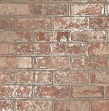 Fine Décor fd41954Loft brick Tapete, Natur