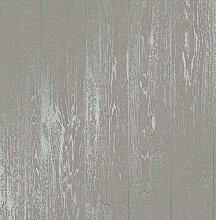 Fine Décor fd41960Loft Holz Tapete, grau
