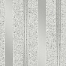 Fine Décor fd41967Quarz Streifen Tapete, silber