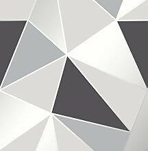 Fine Decor FD41994 Uk Apex Geo Sidewall Tapete,