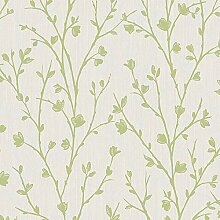 Fine Décor fd42159 Twiggy DL30702 Tapete, grün