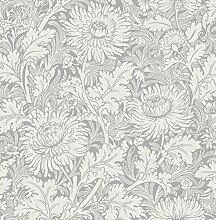 Fine Décor FD42530 Sandringham Floral Silver