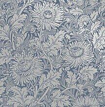Fine Décor FD42532 Sandringham Floral Blue