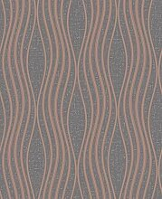 Fine Décor FD42568 Quartz Wave Copper Wallpaper