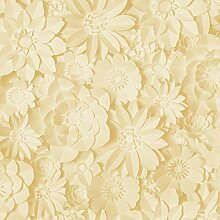 Fine Décor FD42597 Dimensions Floral Yellow Tapete
