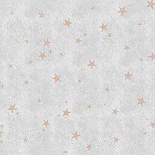 Fine Décor M1491 Starlight Stars Rose Gold