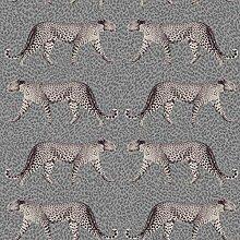 Fine Décor M1495 Glamorous Leopard Charcoal
