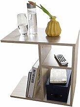 FineBuy Beistelltisch NILO 50x50x30 cm Holz Sonoma
