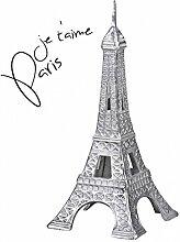 FineBuy Deko Design 3D Eiffelturm Modell Paris