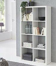 FineBuy Design Bücherregal Eddy mit 8 Fächern