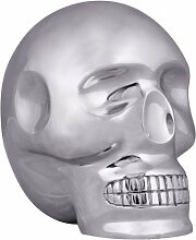 FineBuy Design Deko Skull XXL 23 x 23 x 18 cm
