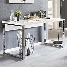 FineBuy Design Schreibtisch Charly 140x70x76 cm