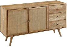 FineBuy Design Sideboard 140x75x40 cm Mango