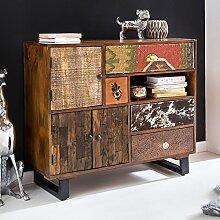 FineBuy Schrank Kanpur 90 x 35 x 80 cm Massiv Holz