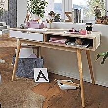 FineBuy Schreibtisch Bürotisch mit Schublade